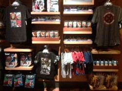 Two Pictures of the Disney Store