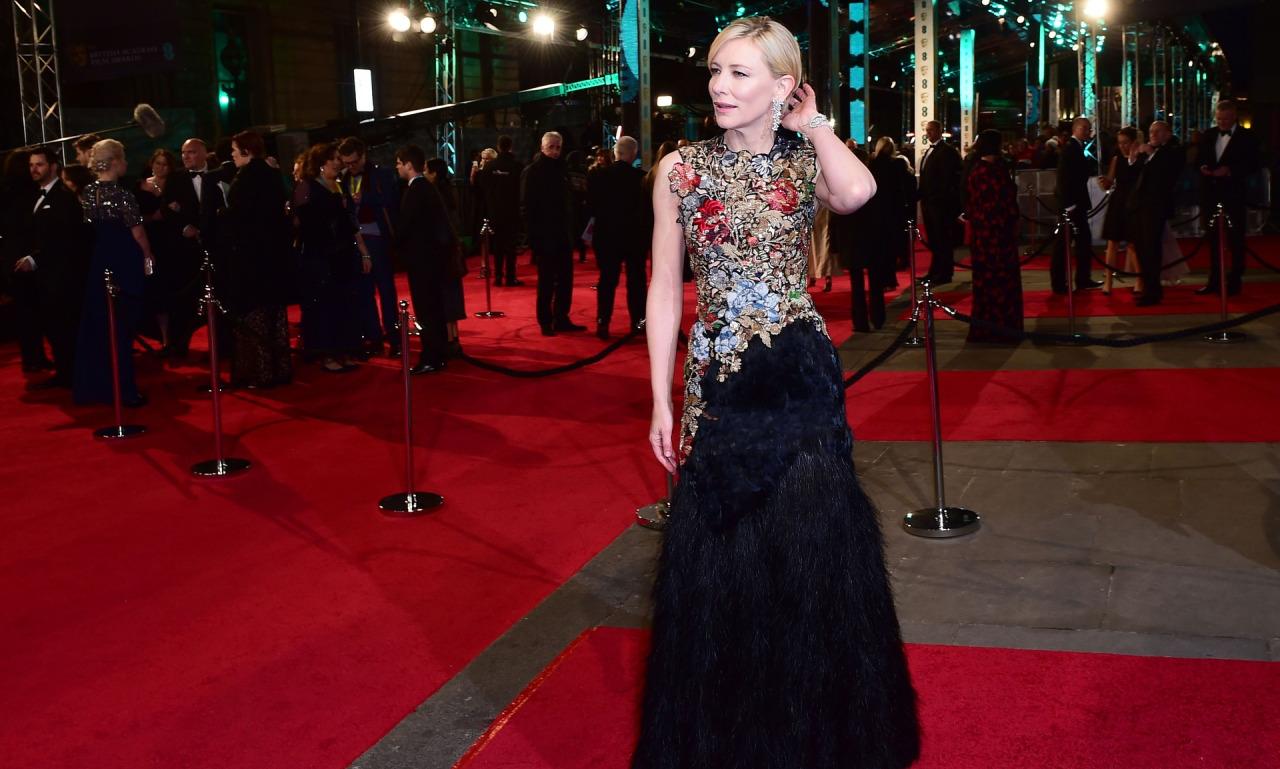 Baftas: Red Carpet Rundown: BAFTAs 2016