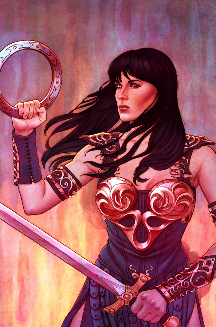 Genevieve Valentine Xena The Power The Passion The Comic